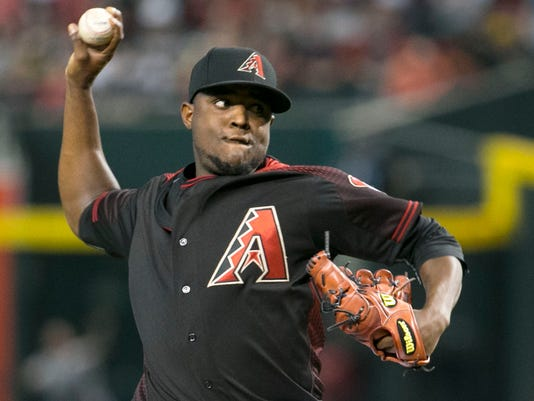 D-Backs Rubby De La Rosa