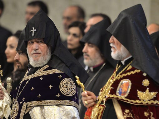 Supreme Patriarch and Catholicos of All Armenians,