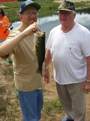 Grand rapids lions club helps odc catch the 39 big fish 39 for Local bass fishing clubs