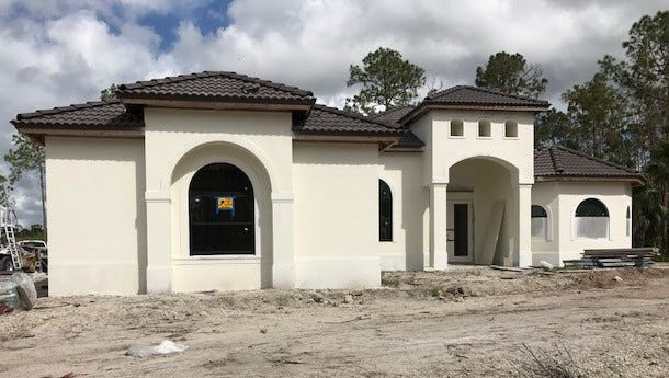 Nova Homes of South Florida is building the Marquesa model in Golden Gate Estates.