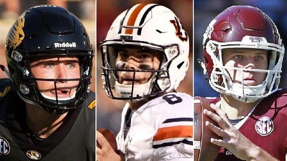 Alabama will face three of Athlon Sports' Top 10 starting
