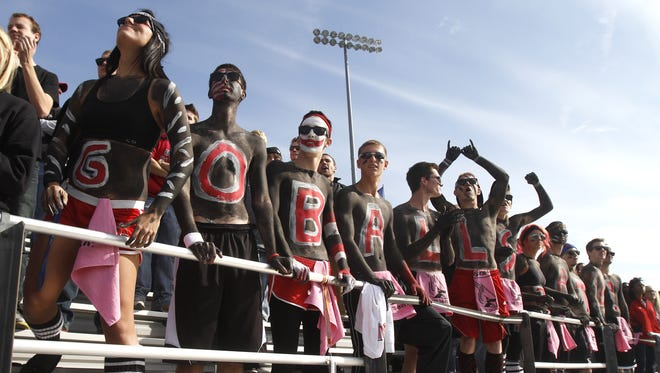 Student fees make up more than half of Ball State's athletic budget.