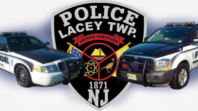 Lacey Township Police Department logo.