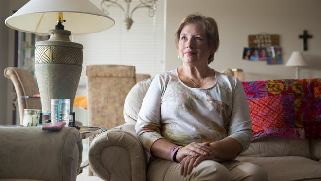 """Janice Feenstra, who has been battling stage 4 metastatic breast cancer for nearly three years, does her best to remain positive and stay active. """"If you don't stay busy, you tend to cry a lot,"""" she said. """"I try to live like I don't have anything wrong with me."""" She turns to Avow Hospice Care for palliative care."""