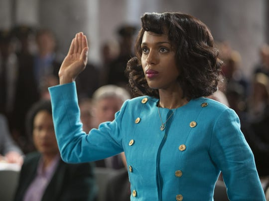 "Kerry Washington stars as law professor Anita Hill in the HBO movie ""Confirmation."""
