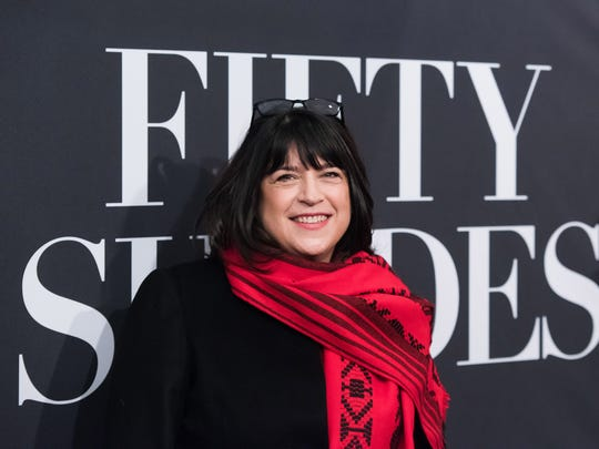 """E.L. James is the author of """"Fifty Shades of Grey,"""" a book adapted for film that is being released for the Valentine's Day weekend."""