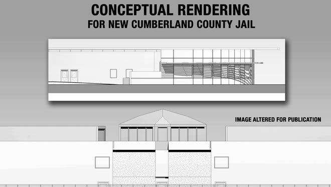 Conceptual jail rendering.
