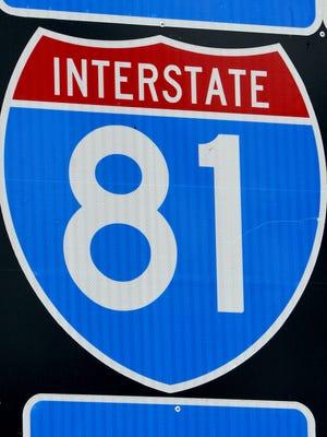 I-81 sign