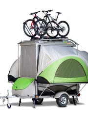 Tom Dempsey launched SylvanSport in a 3,000-square-foot office and design space in Cedar Mountain in 2004, to create the innovative GO camping trailer. It now operates in an 18,000 square-foot manufacturing facility in Brevard and has just opened a 60,750-square-foot industrial center on 7 acres.