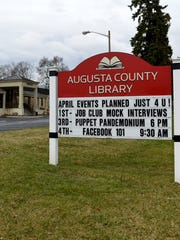 Augusta County Library in Fishersville.