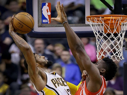 Paul George's highlight-reel dunks often brought Pacers