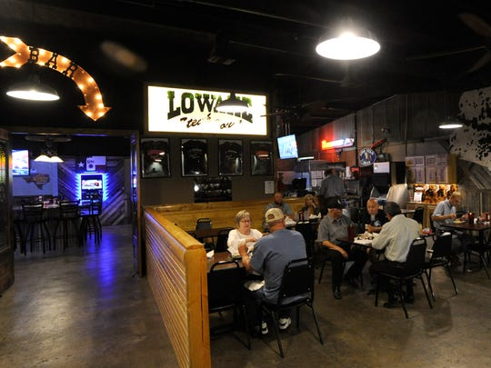 The main dining room at the new Lowake Steak House in Rowena Thursday Oct. 26, 2017. Owner Kerry Goetz incorporated elements of the original 1951 restaurant into the new building, which opened in February.