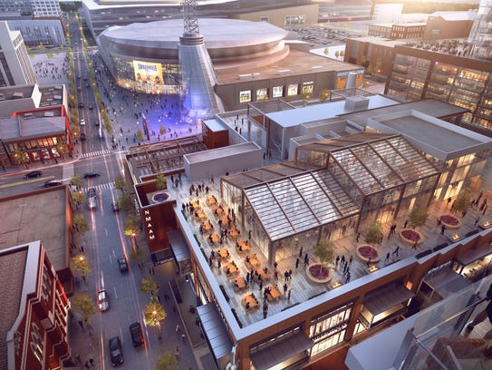 Fifth + Broadway will have more than 235,000 square