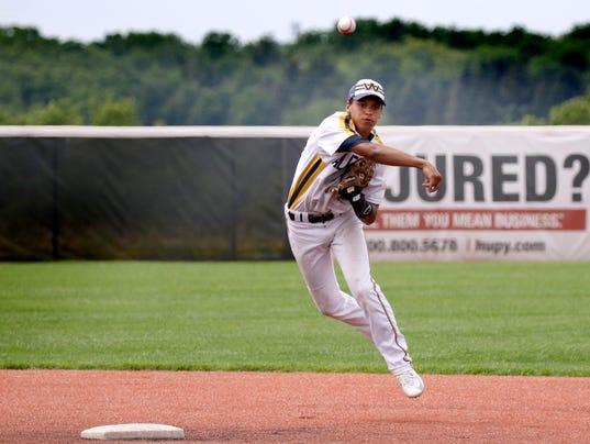 Whitnall Baseball at Woodland Conference tournament