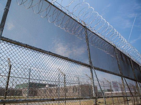 Building C at James T. Vaughn Correctional Center