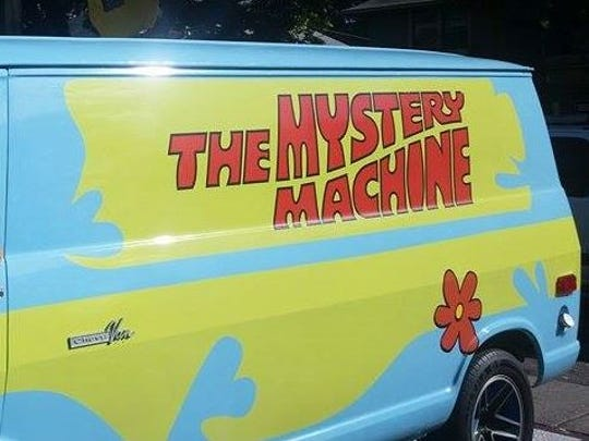 The Mystery Machine will be at Tony's Kingdom of Comics and Collectibles on Saturday, Oct. 31.