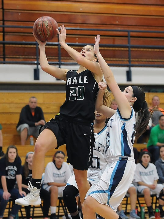 Girls Basketball: West Allis Hale at Nicolet