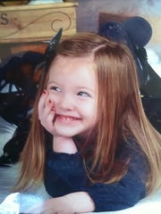 Ayzlee McCarthy, 3, of Elk Horn died Dec. 29 from the flu. She is shown here in a recent family photo.