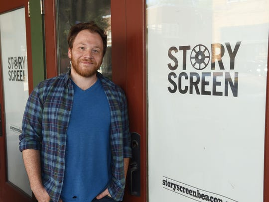 Mike Burdge, owner and founder of Story Screen, the