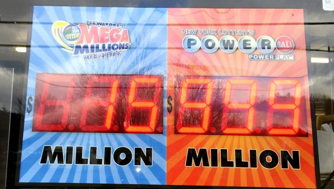 The electronic Powerball sign in front of Shepherd's Market in Pine City can't even go up to $1.4 billion.