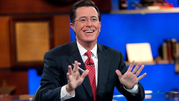 "Stephen Colbert of ""The Colbert Report."""