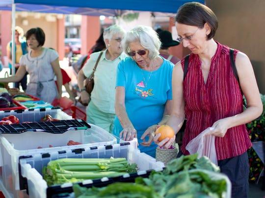 The Chandler Farmer's Market is held every Thursday