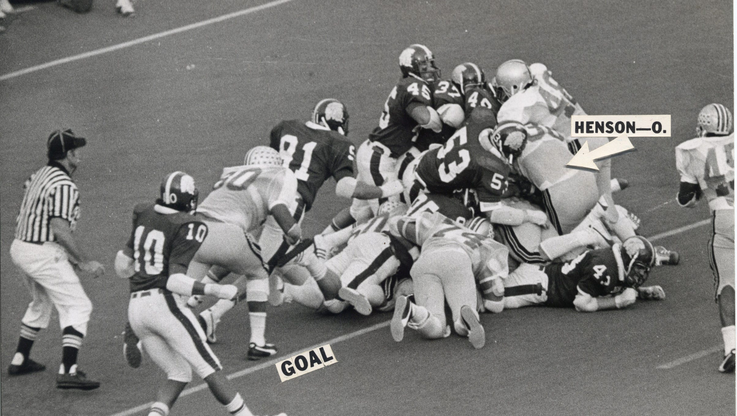MSU-Ohio State 1974: Spartans, Buckeyes relive the chaos