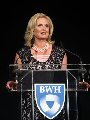 Ann Romney launches the Brigham and Women's Hospital Ann Romney Center for Neurological Diseases.