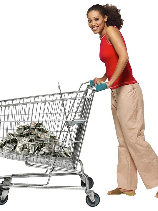 cart of money
