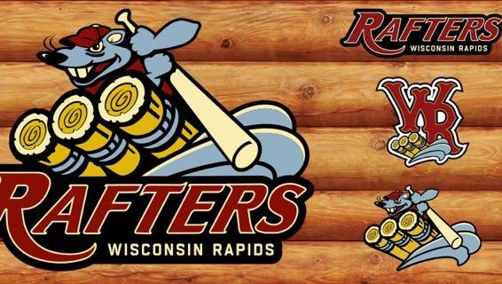Wisconsin Rapids Rafters new logo design