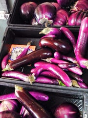 Eggplants grown at 31 Produce in North Fort Myers
