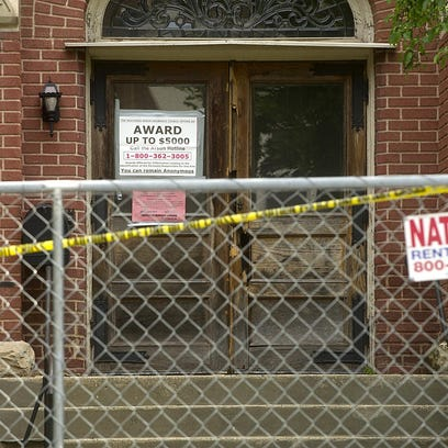 A repair order had been sent by the city to the owner of the old Convent of the Sisters of the Holy Nativity at the corner of Division and Amory streets. Fire ravaged the building on the evening of June 5.
