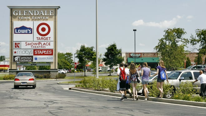 File photo of the Glendale Town Center from June 25, 2009.