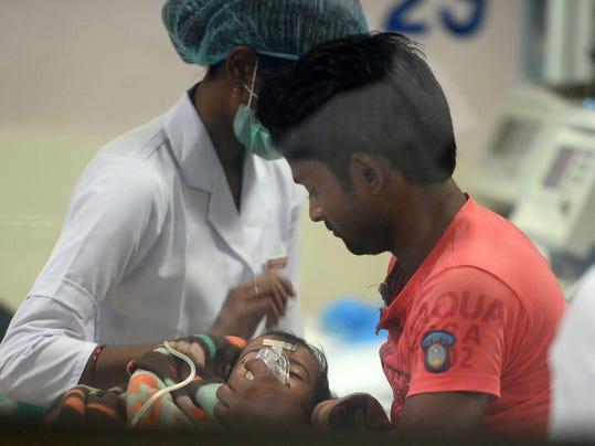 INDIA-HEALTH-CHILDREN