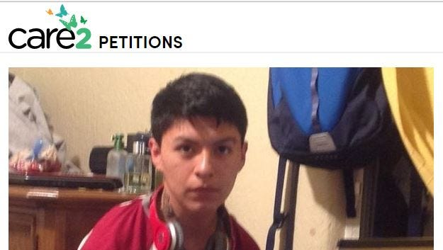 Online petition in support of  Diego Ismael Puma Macancela, an Ossining High School student taken into custody by federal authorities.