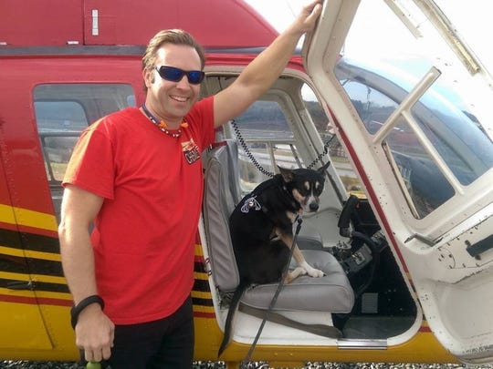 Jason Dahl, 38, a pilot with Smoky Mountain Helicopters, was killed April 4, 2016 while flying on a sightseeing tour in Pigeon Forge. (credit: Facebook)