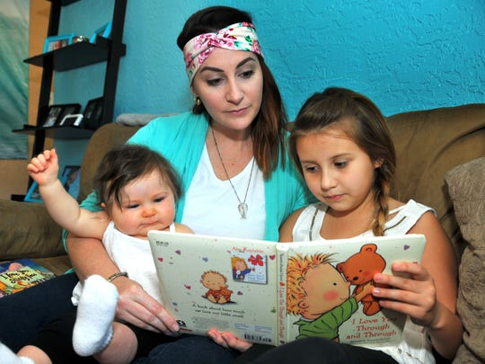 Brianne Shaker of Port St. John is one of those moms