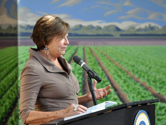 National Steinbeck Center director Dr. Susan Shillinglaw