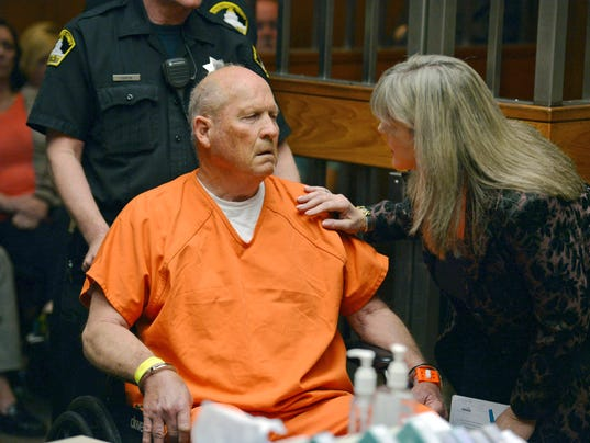 Golden State Killer suspect on suicide watch, appears in ...