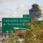 Currently, LaGuardia passengers can only get to or from the airport by car or bus.