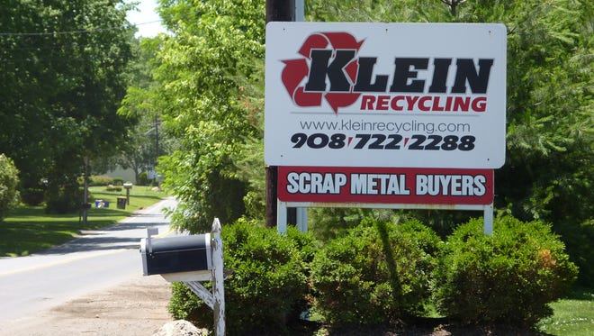 Klein Recycling in Hillsborough was cited in a report by the State Commission of Investigation.