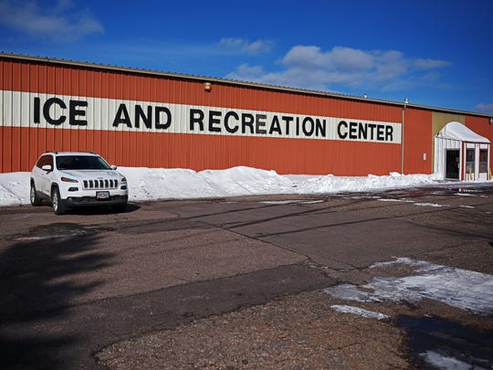 The Sioux Falls Ice and Recreation Center building next door to the Glory House Thursday, Feb. 2, 2017, in Sioux Falls.