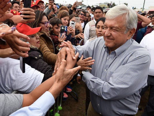 MEXICO-ELECTION-CAMPAIGN-LOPEZ OBRADOR