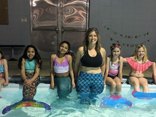Little Mermaids - Traveling Mermaid owner and instructor