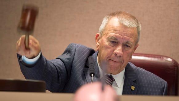 Alabama Speaker of the House Mac McCutcheon calls for