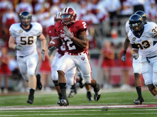Marcus Thigpen was among the nation's top returners during his days at IU.