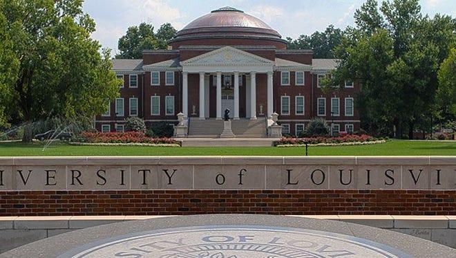 University of Louisville campus.