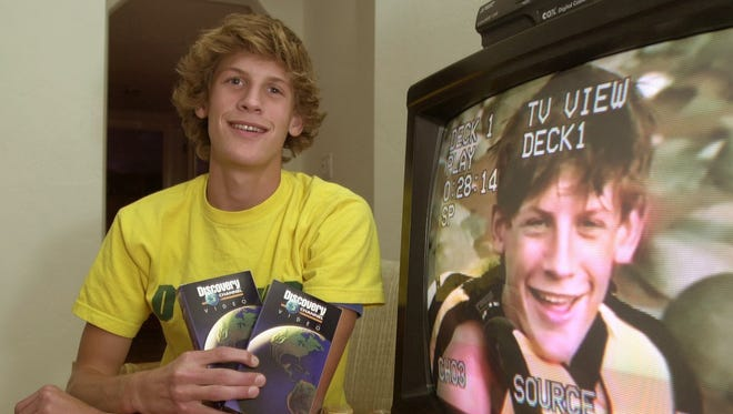 """Charlie Keating (16) will be appearing in an upcoming 10 episode special on the Discovery channel called """"Outward Bound."""""""