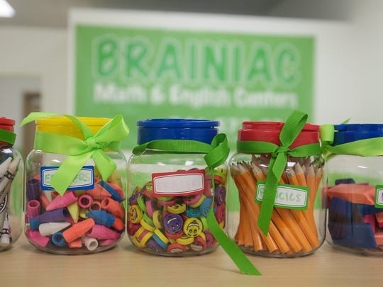 Brianiac, a new tutoring center for young children in Old Bridge, on June 29, 2016.