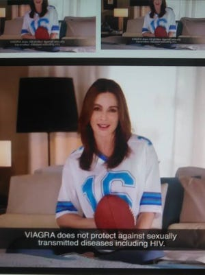 How many times will we watch this commercial during the NFL playoffs this weekend? On which game will it be broadcast the most?